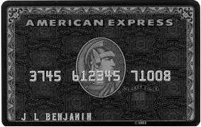 アメリカンエキスプレスセンチュリオンカード
